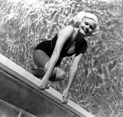 Jean Harlow, Mgm, Ca. Early 1930s Print by Everett