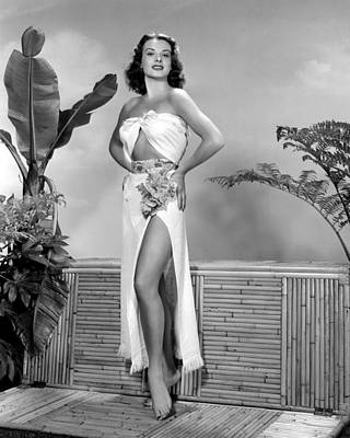 Jean Peters, Ca. Early 1950s Print by Everett