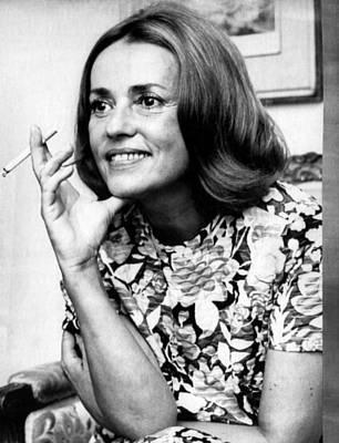 Jeanne Moreau, Ca. Late 1960s Print by Everett