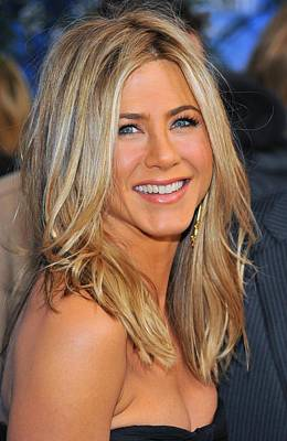 Dark Roots Photograph - Jennifer Aniston At Arrivals For Just by Everett