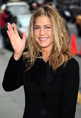 Paparazziec Photograph - Jennifer Aniston At Talk Show by Everett