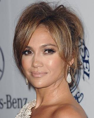 Beverly Hilton Hotel Photograph - Jennifer Lopez At Arrivals For 32nd by Everett