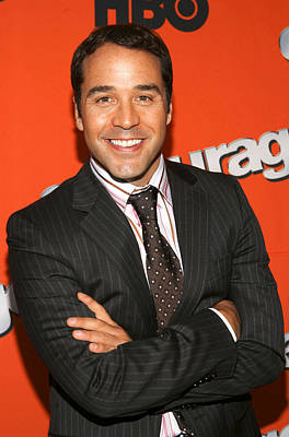Jeremy Piven At Arrivals For Hbo Season Print by Everett