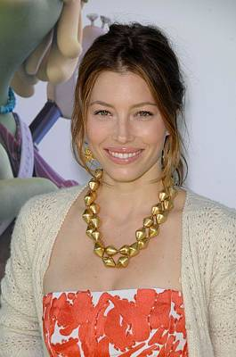 Jessica Biel Photograph - Jessica Biel At Arrivals For Planet 51 by Everett