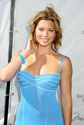 Jessica Biel Photograph - Jessica Biel In Attendance by Everett