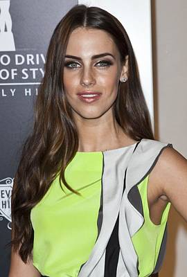 Jessica Lowndes Photograph - Jessica Lowndes At Arrivals For Rodeo by Everett