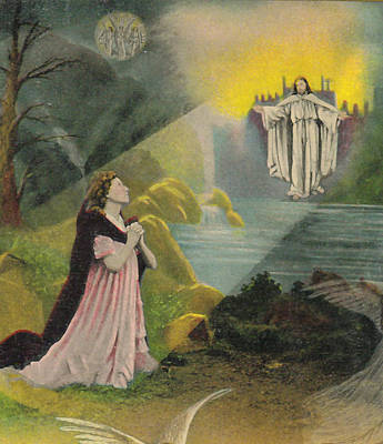 Jesus Appears Print by Anne Cameron Cutri