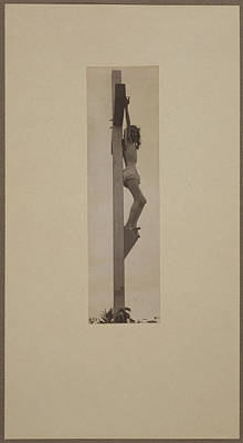 Jesus Christ, The Crucifixion Print by Everett