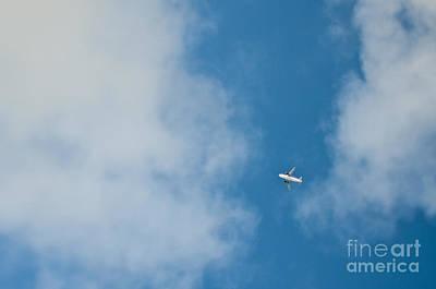 Jet Airplane In Flight Print by Eddy Joaquim