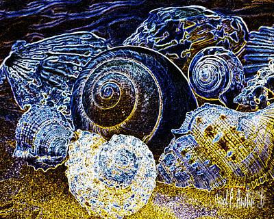 Jewels From The Ocean  Original by Carol F Austin