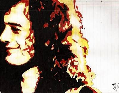 Jimmy Page Drawing - Jimmy Page  by Silvia C Hernandez Ibarra