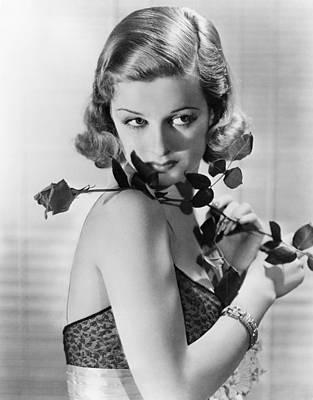 Joan Bennett Photograph - Joan Bennett, 1938 by Everett