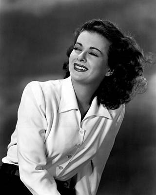 Joan Bennett Photograph - Joan Bennett, 1947 by Everett