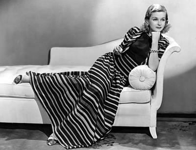 Joan Bennett Photograph - Joan Bennett, Paramount Pictures by Everett