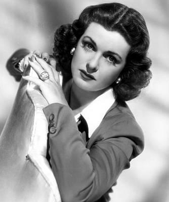 Joan Bennett Photograph - Joan Bennett, Portrait Circa 1946 by Everett