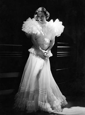 Hurrell Photograph - Joan Crawford, Mgm Portrait By Hurrell by Everett