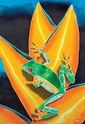 Joe's Treefrog Print by Daniel Jean-Baptiste