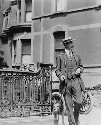 John Jacob Astor Iv 1864-1912, Walking Print by Everett