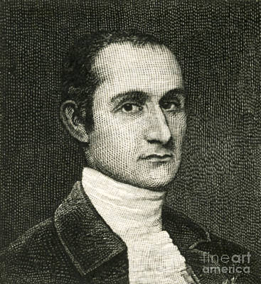 John Jay, American Founding Father Print by Photo Researchers