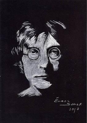 John Lennon Print by Eamon Gilbert