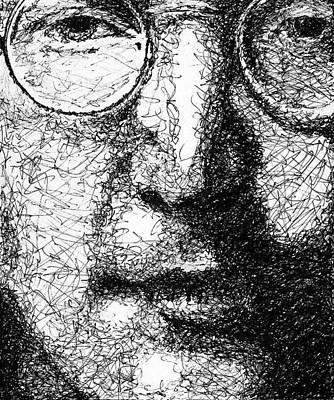 John Lennon Print by Larry Joe