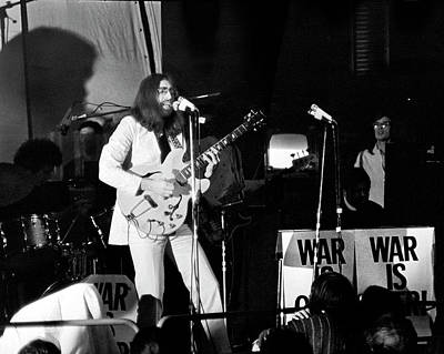 Lennon Photograph - John Lennon War Is Over 1969 by Chris Walter