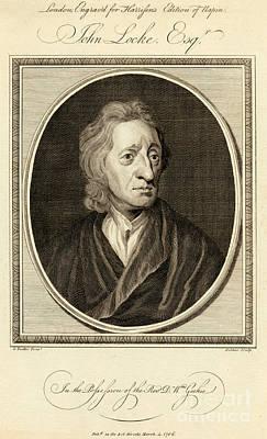 John Locke, English Philosopher Print by Photo Researchers