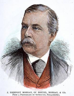 John Pierpont Morgan (1837-1913) Print by Granger