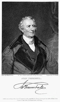 Lapel Photograph - John Trumbull (1756-1843) by Granger
