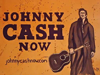 Johnny Cash Now Original by Pete Maier
