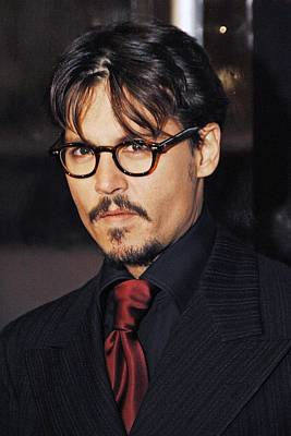 Johnny Depp Photograph - Johnny Depp At Arrivals For New York by Everett