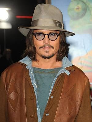 Johnny Depp Photograph - Johnny Depp At Arrivals For Rango by Everett