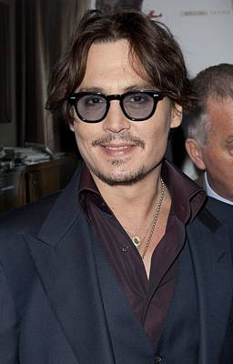 Johnny Depp Photograph - Johnny Depp At Arrivals For The Rum by Everett