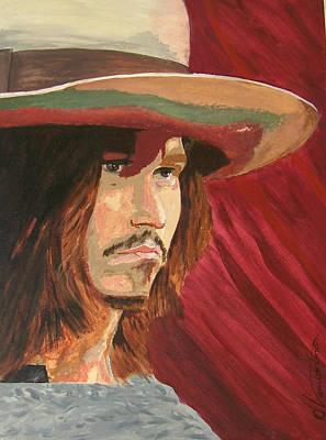 Johnny Depp Original by David Lambertino