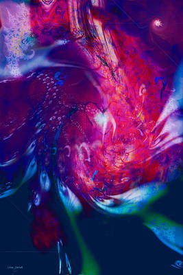 Journeys Of The Heart Print by Linda Sannuti