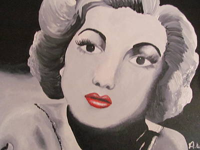 Judy Garland Painting - Judy Garland by Abby Williams