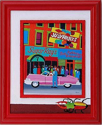 Jujyfruit Print by Rob M Harper