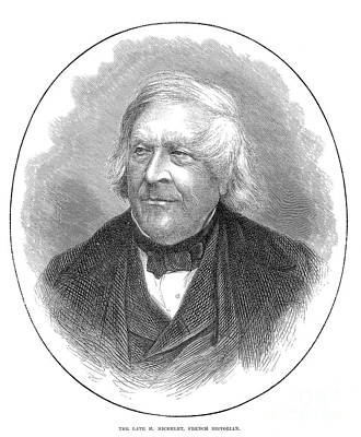 1874 Photograph - Jules Michelet (1798-1874) by Granger