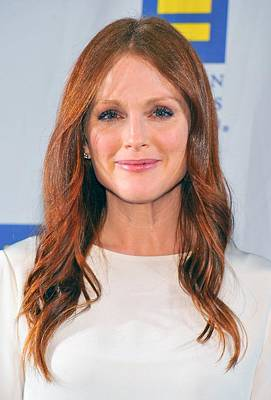 Bestofredcarpet Photograph - Julianne Moore At Arrivals For No by Everett