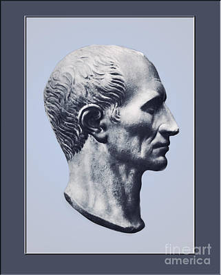 Julius Caesar, Roman General Print by Photo Researchers