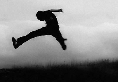 Sneaker Photograph - Jumping Bean by Nichole Montanez