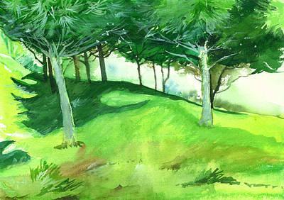 Jungle 2 Print by Anil Nene