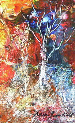 Painting - Jungle Fantasy by Adele Greenfield