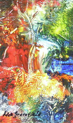 Painting - Jungle Meets The Sea by Adele Greenfield