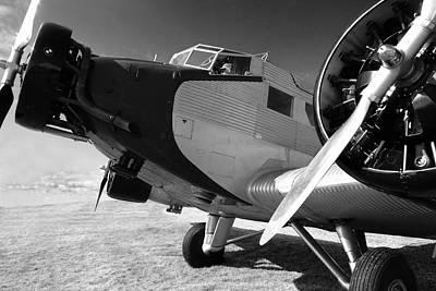 Junkers Ju 52 1939 Print by Maxwell Amaro