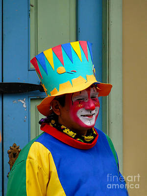 Clown Nose Photograph - Just Clowning Around by Al Bourassa