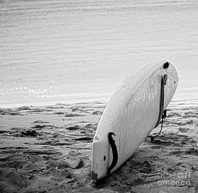 Just Surf Print by Cheryl Young
