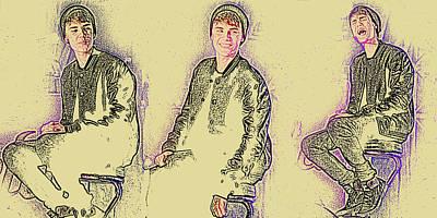 E 20 Photograph - Justin Bieber 40 by Jez C Self