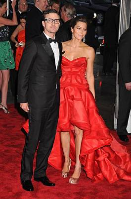 Jessica Biel Photograph - Justin Timberlake Wearing William Rast by Everett