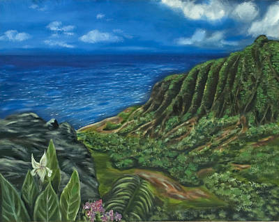 Kalalau Valley Print by Brandon Hebb